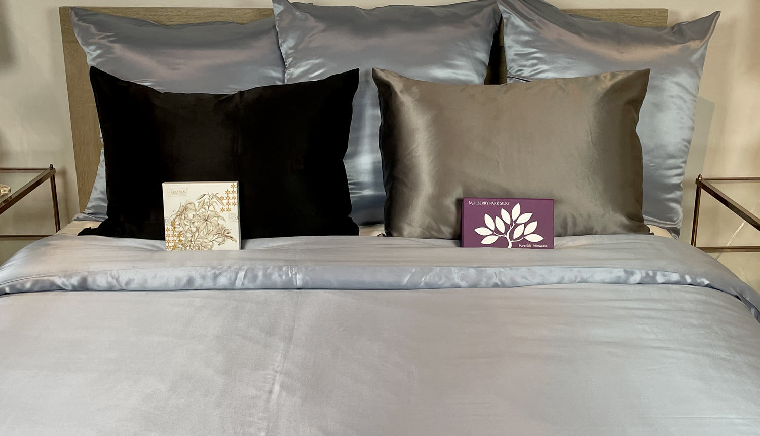 Product Review Mulberry Park Silks vs. Lilysilk pillowcase review