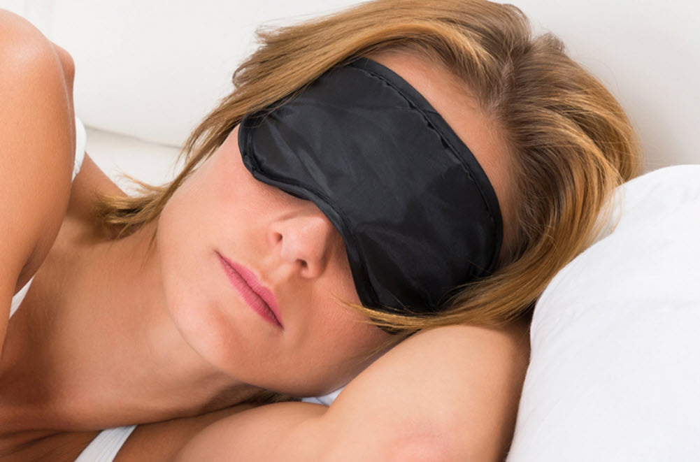 100% Silk Charmeuse Sleep Masks