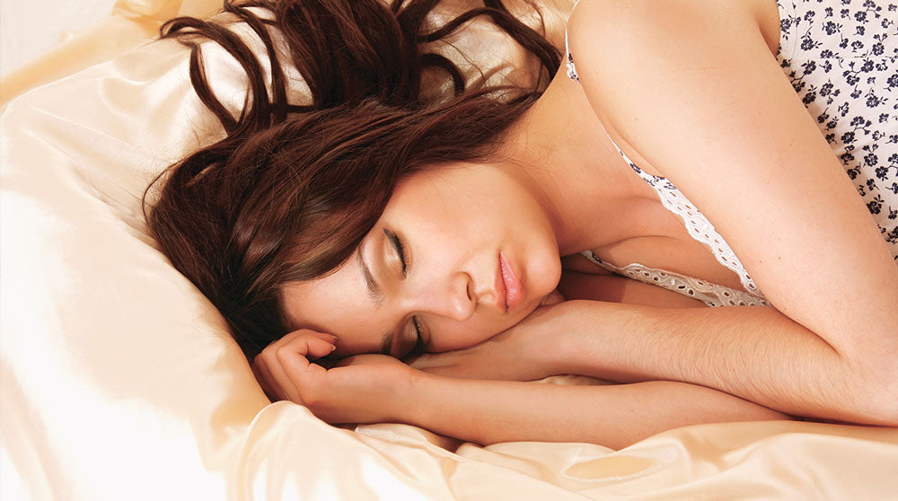 Sleeping on a Mulberry Park silk pillowcase delivers a true beauty sleep for your hair and skin