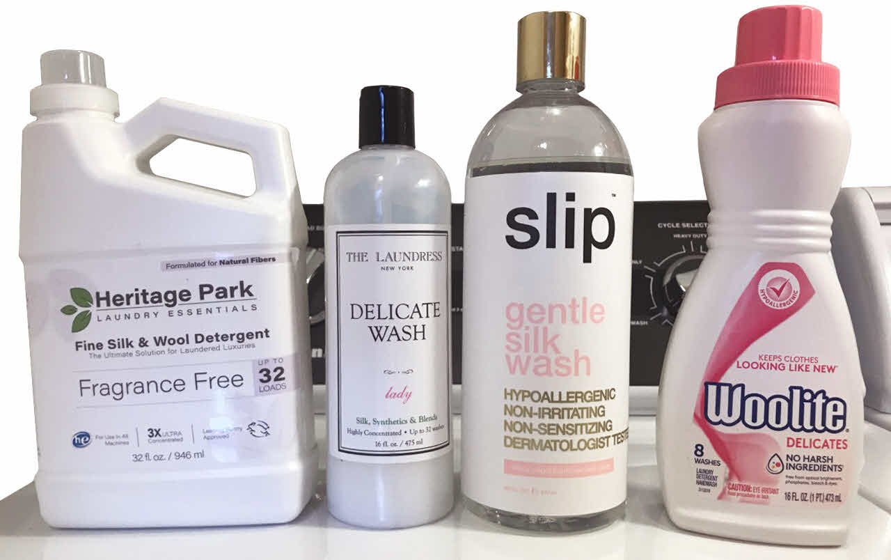 Which of these detergents are best for your silk pillowcase and silk sheets