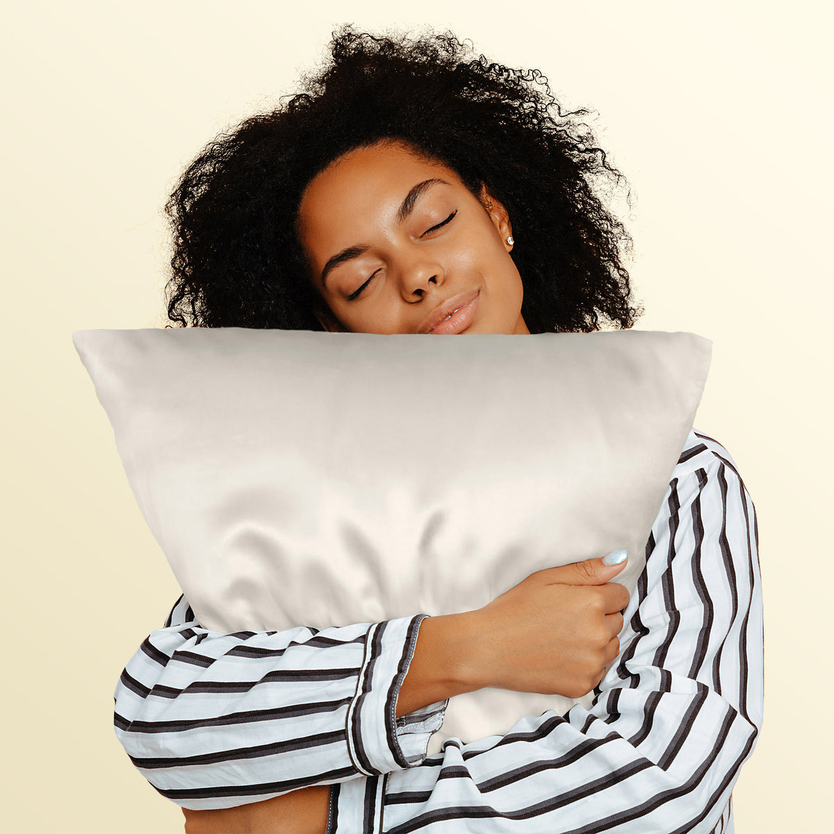 OUTLET King 19 Momme Pillowcase - Ivory