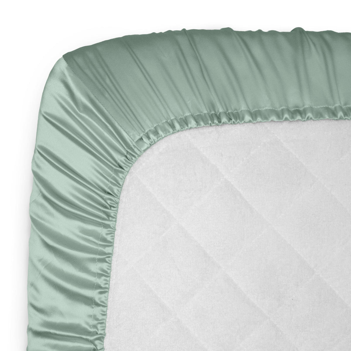 Silk Crib & Toddler Fitted Sheet