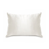 Little Royals Pure Silk Toddler Pillowcase - Natural White
