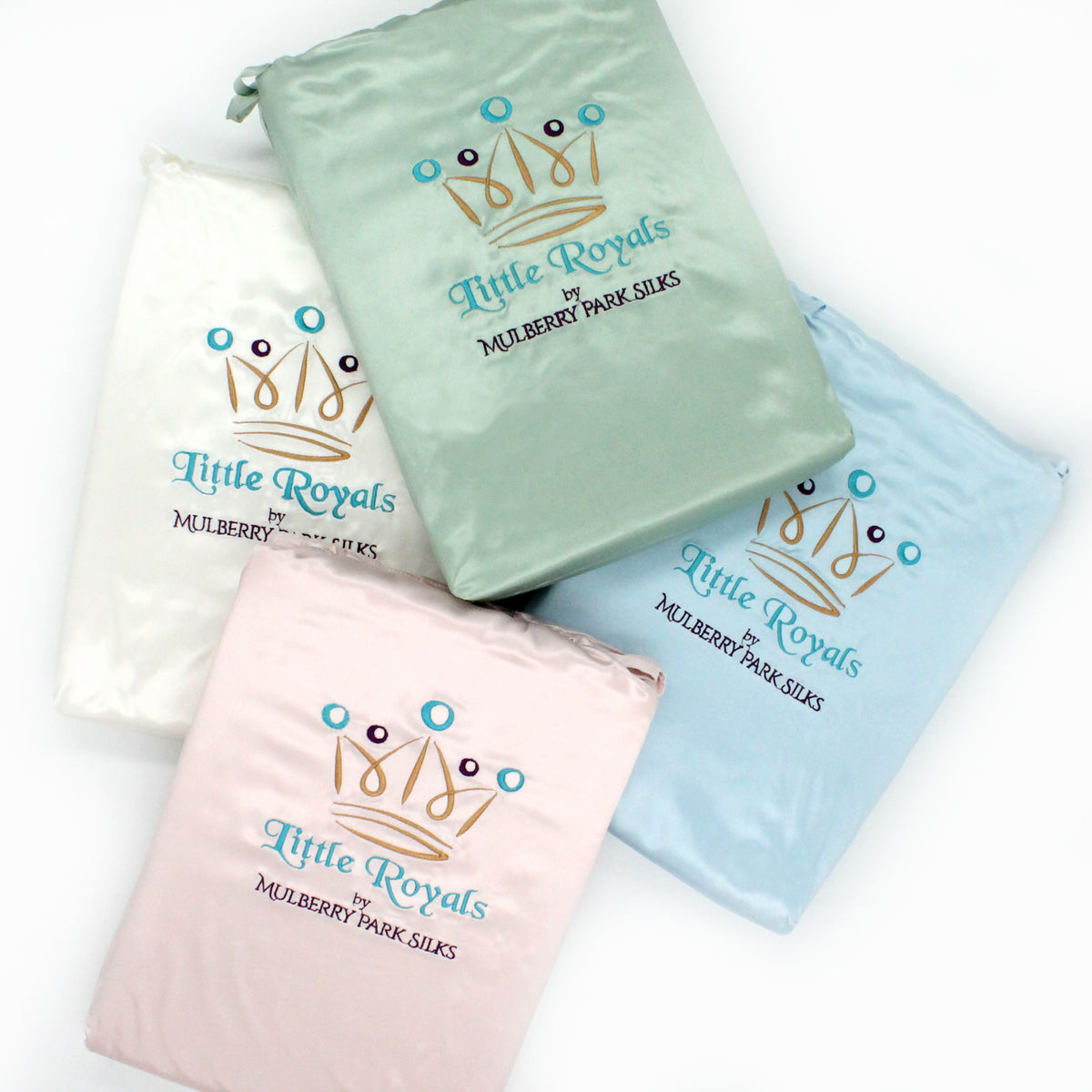 Little Royals Twin Silk Sheet sets by Mulberry Park Silks