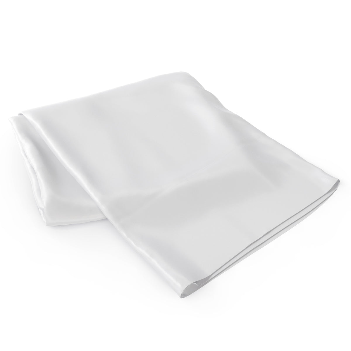 White Flat Momme Silk Sheet