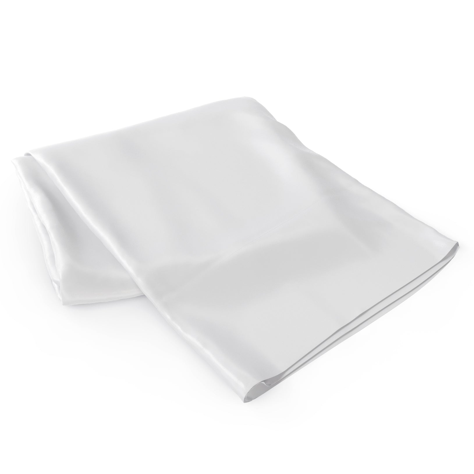 100% Silk 22 Momme Flat White Silk Sheets
