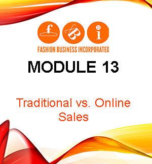 Module 13: Traditional vs. Online Sales