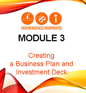 Module 3: Creating a Business Plan and Investment Deck
