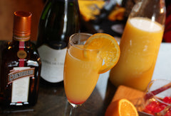 Jackass Charm now serves mimosas on Saturdays!