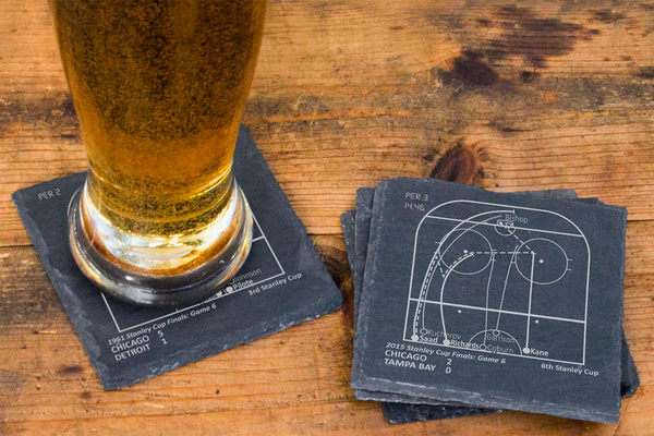 Playbook Products - Chicago Blackhawks Greatest Plays Coasters