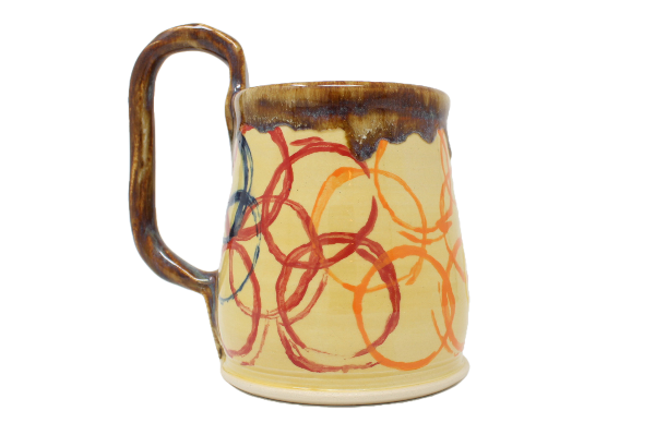 LGBTQ Hand-Thrown Pottery Mugs