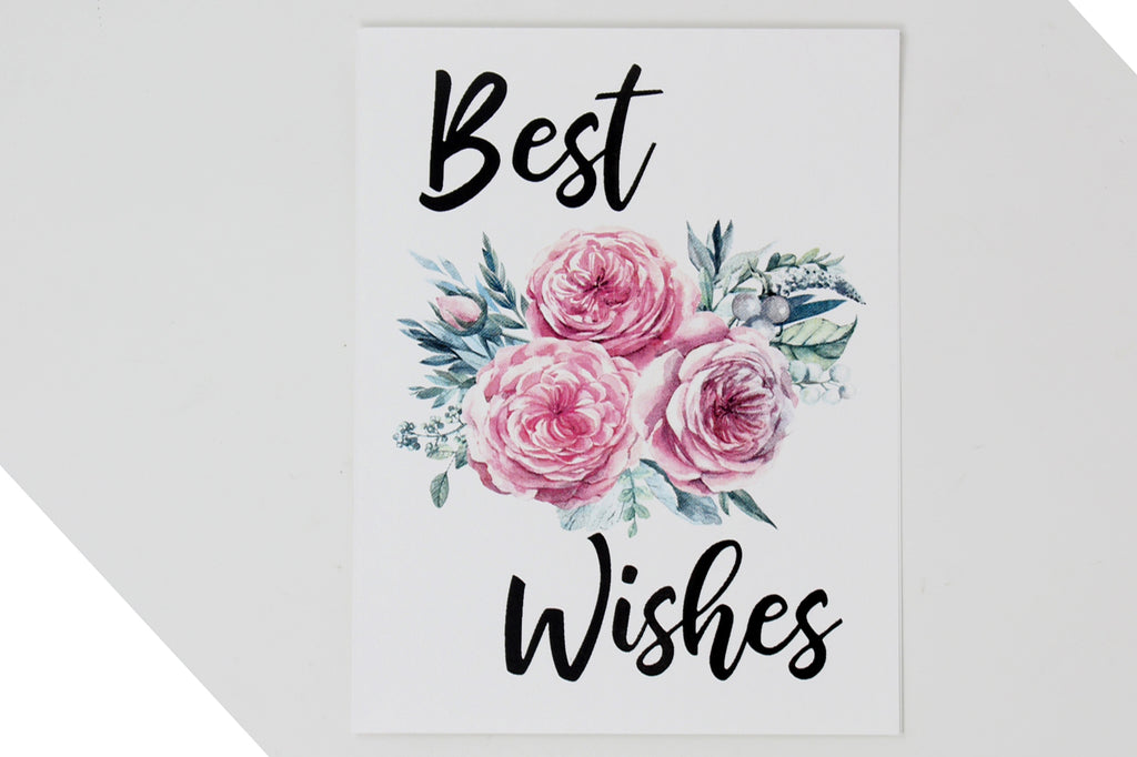Best Wishes a card by Up South