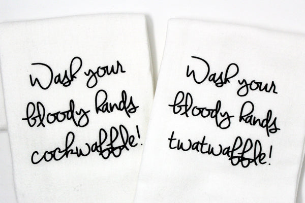 Jackass Charm Hand Towels