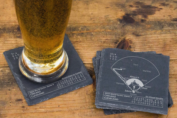 Playbook Products - 2016 Chicago Cubs Championship Coasters