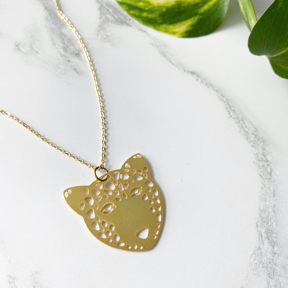 Gold Leopard Necklace