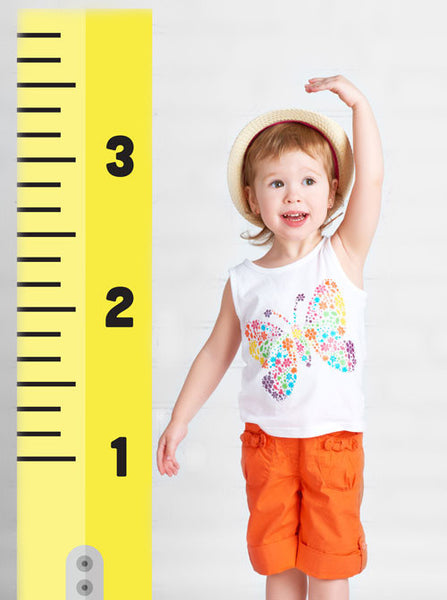 Measuring Tape Growth Chart Girl