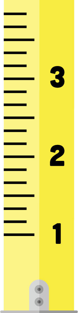 Measuring Tape Growth Chart