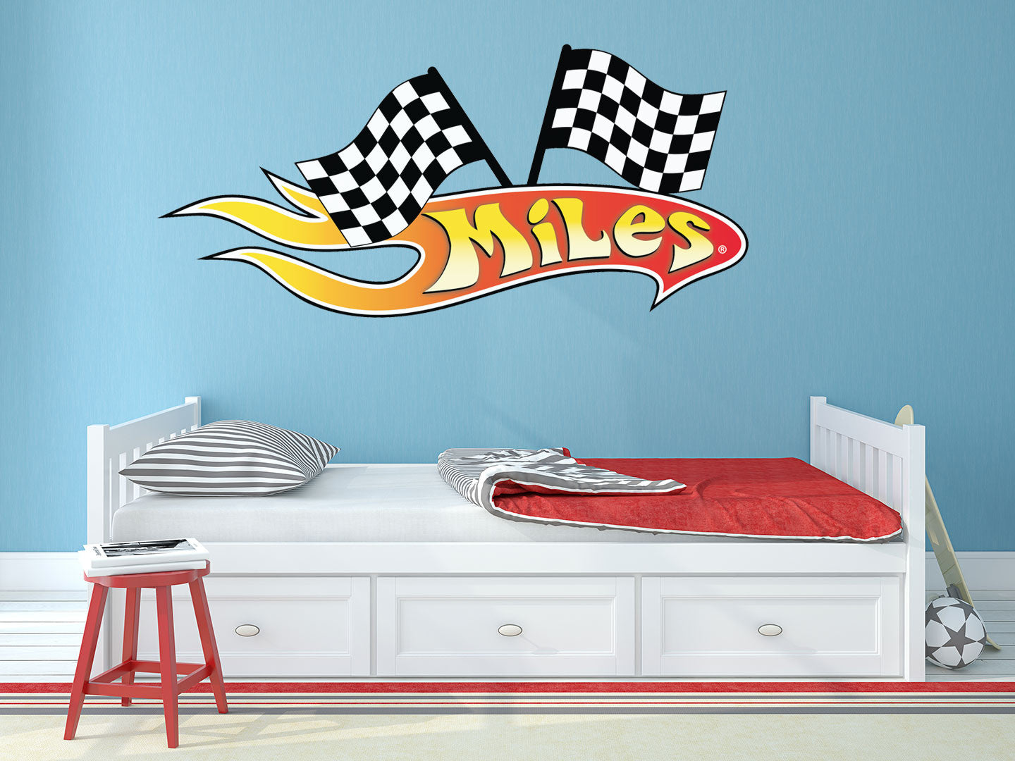 Awesome Custom Flame Wall Decal Part 19