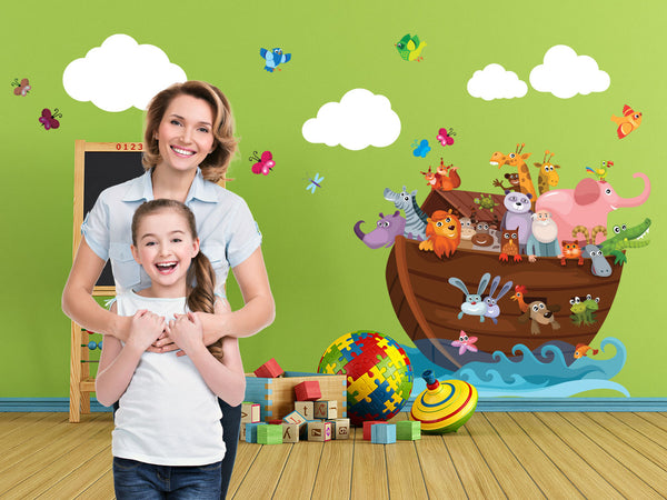 Noah's Ark Theme Pack - 16 Wall Decals
