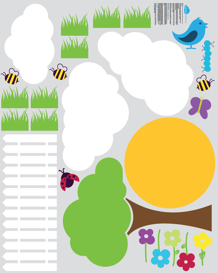 Garden Theme Pack - 26 Wall Decals