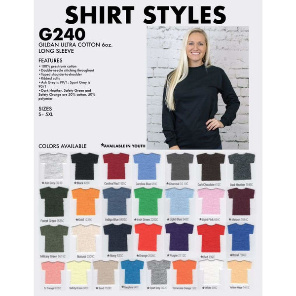 Long-Sleeve T-Shirt - Spirit With Style