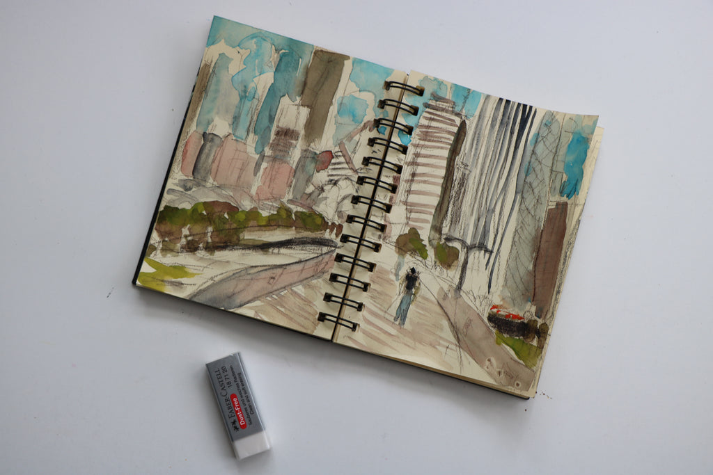 Sketching in Chicago