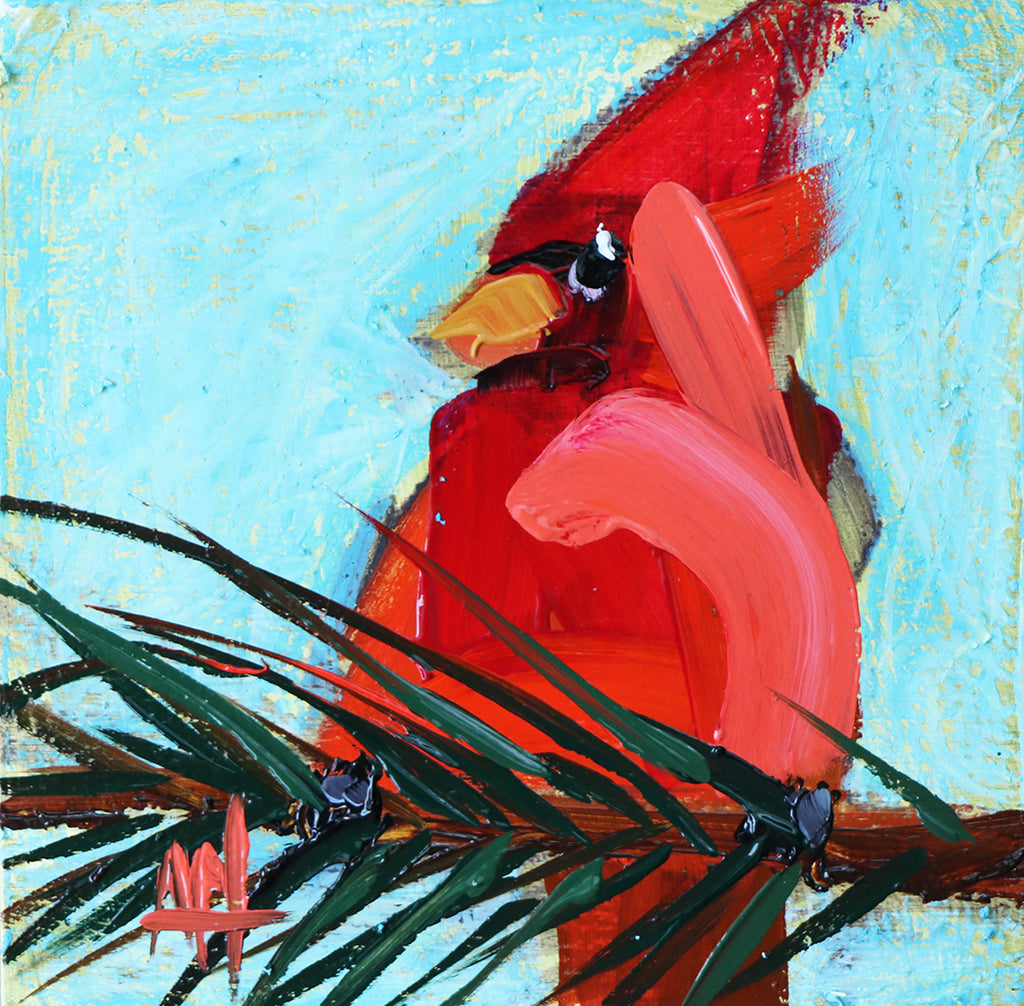 Five Minutes of Cardinal Paintings