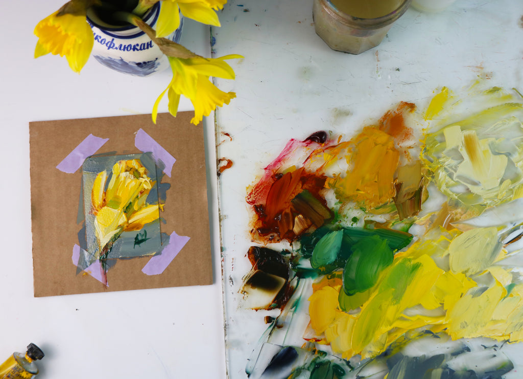 Painting a Daffodil