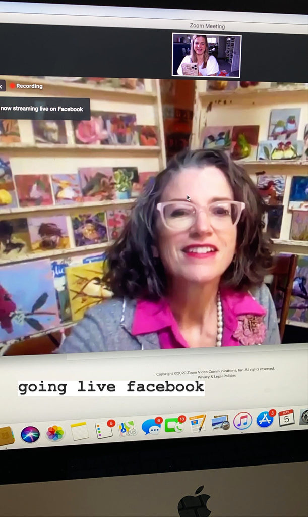 Live on Facebook with Jen OConnor at Earth Angels Studios