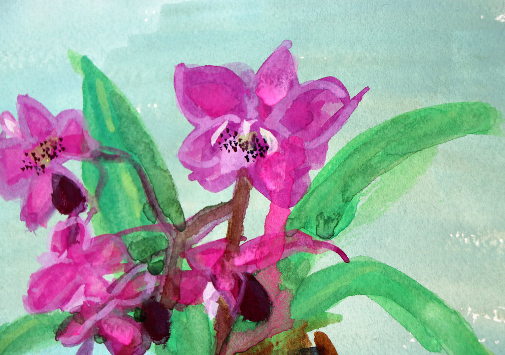 I Painted My Orchid