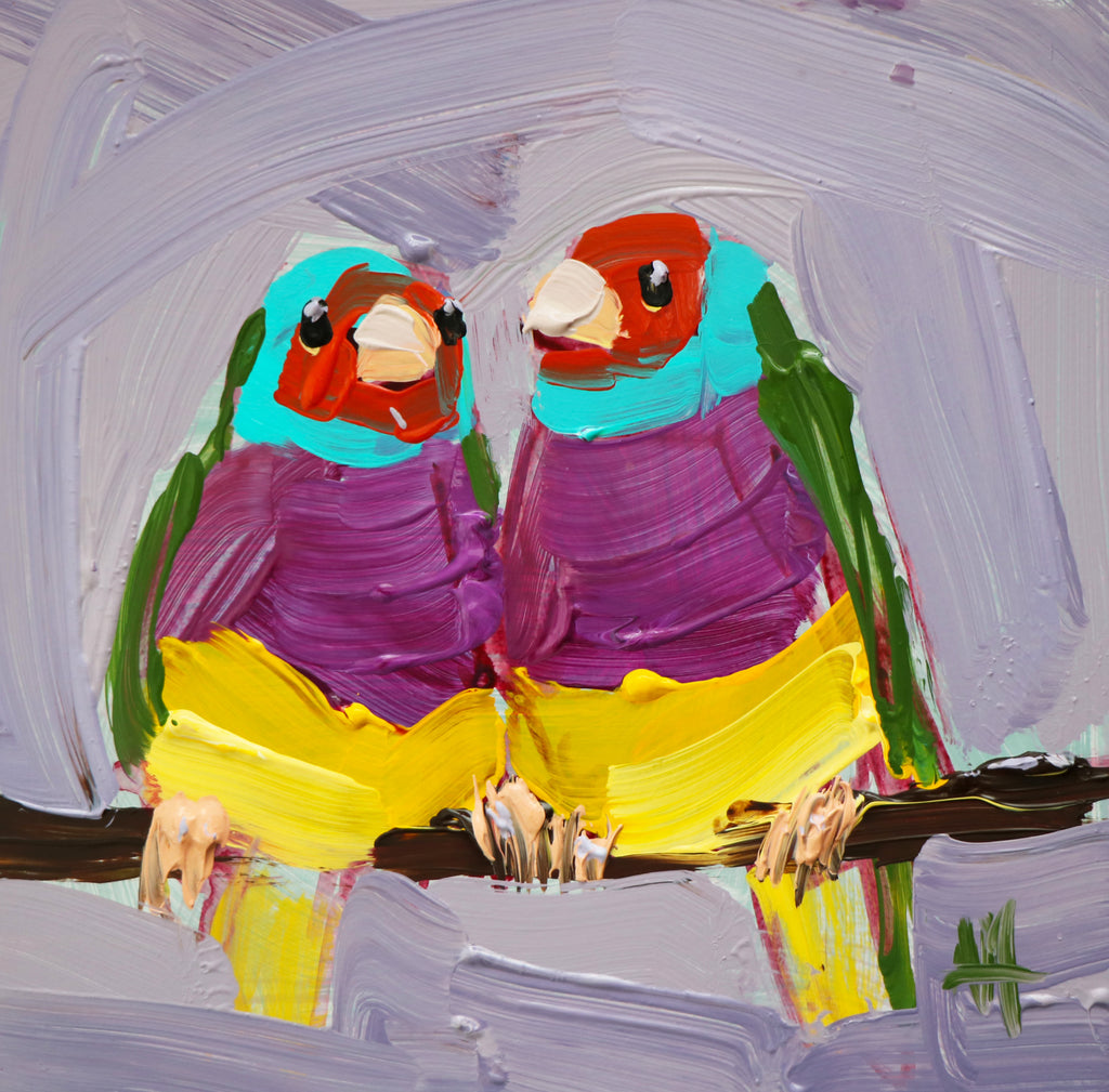 Tropical Bird Paintings