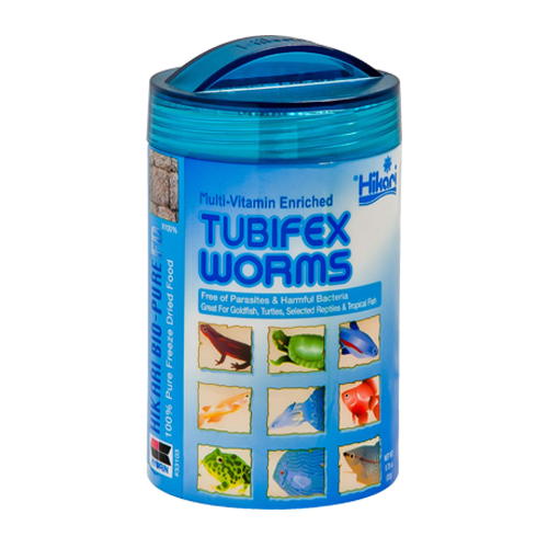 042055331036 33103 tubifex worms hikari freeze dried fd freezedried freeze-dried