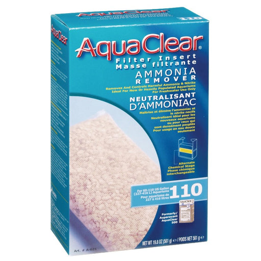 AquaClear 110 Ammonia Remover A621 Fluval 015561106214 A-621 A 621