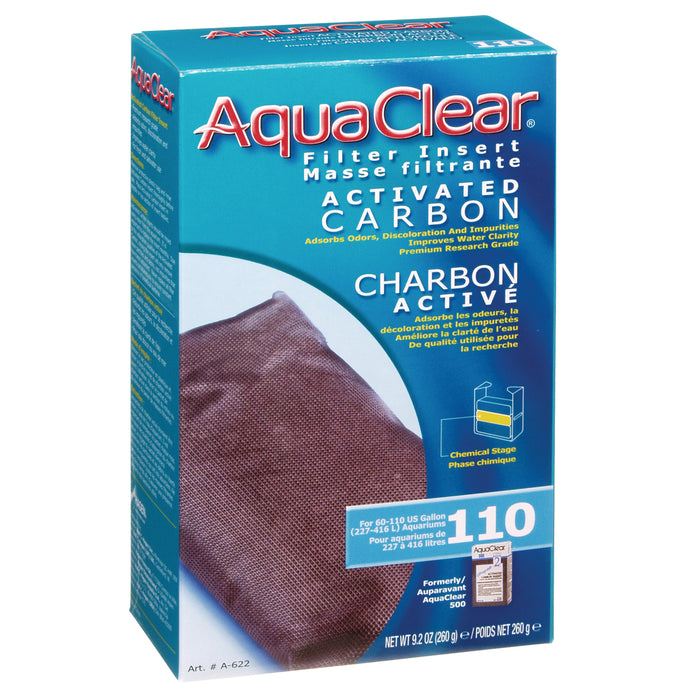 AquaClear 110 Activated Carbon A622 A-622 015561106221 Fluval