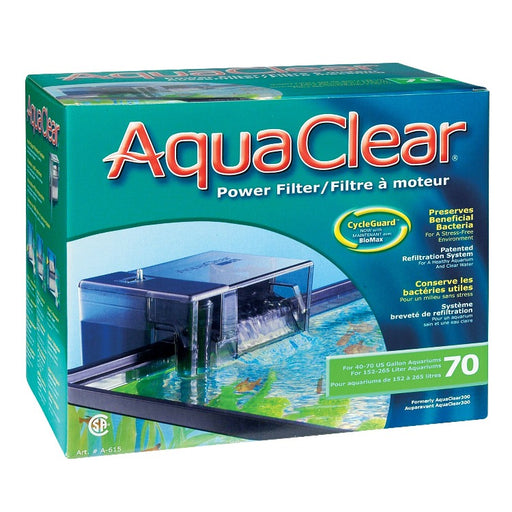 Aqua Clear 70 Power Filter A615 Fluval AquaClear A-615 A 615  015561106153