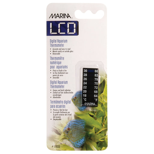Marina Stick-On Meridian Thermometer - 1.75 in