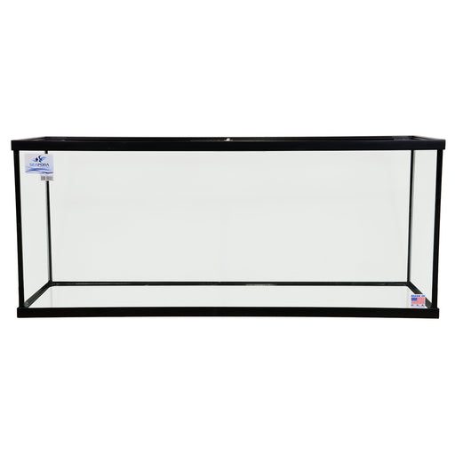 Seapora 120 Gallon Extra High Euro-Braced Aquarium 60x18x25