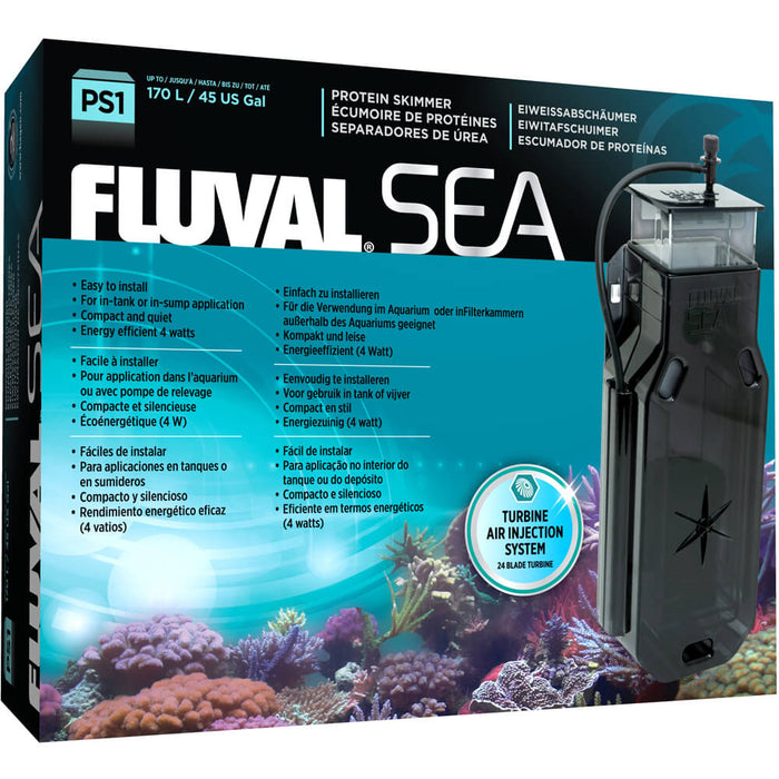 Fluval Sea PS1 Protein Skimmer - to 45 Gallons