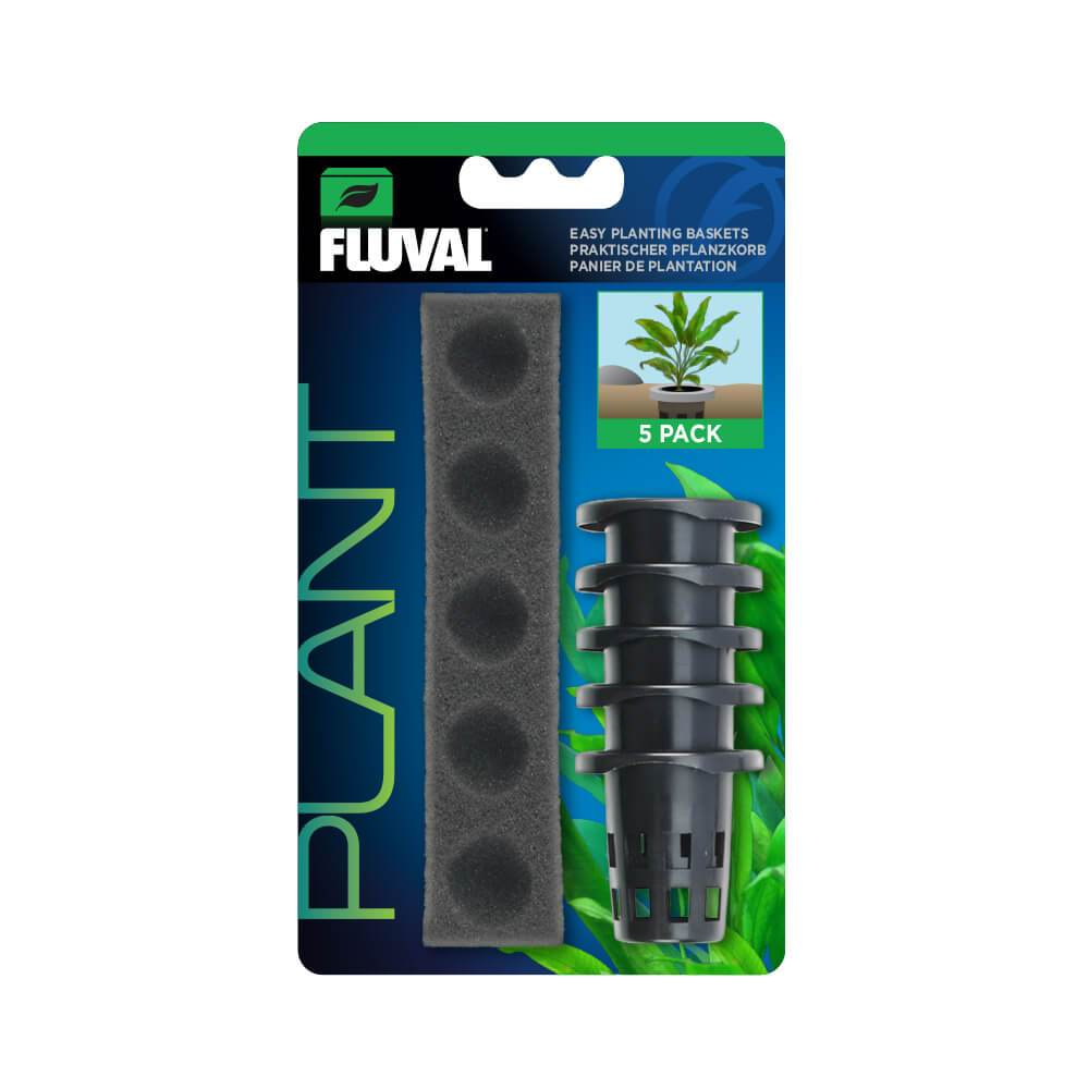 14486 015561144865 Fluval Easy Plant Basket Kit Pots Aquatic
