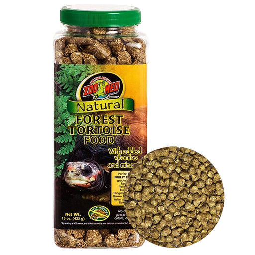 Zoo Med Natural Forest Tortoise Food 15 oz