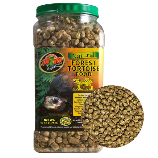 Zoo Med Natural Forest Tortoise Food 60 oz