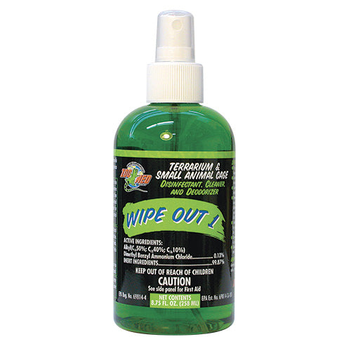 Zoo Med Wipe Out 1 - Terrarium Disinfectant & Cleaner