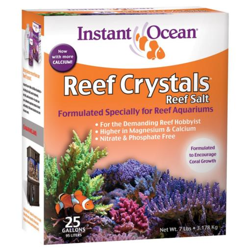 Reef Crystals Sea Salt Mix - 25 Gallon Box