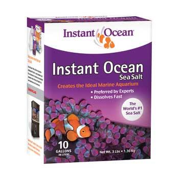 Instant Ocean Sea Salt Mix - 10 Gallon Box