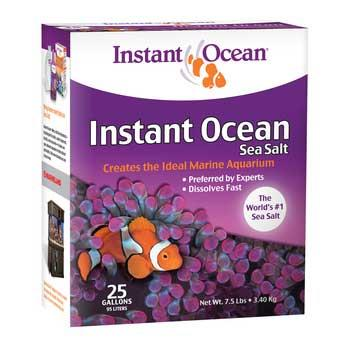 Instant Ocean Sea Salt Mix - 25 Gallon Box