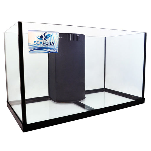 628742500895 57 Gallon Seapora Edge Reef ready Reef-Ready aquarium tank rimless
