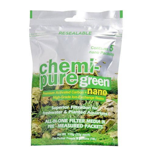 Boyd Chemi Pure Green Nano 5/pk for Freshwater Planted Aquariums