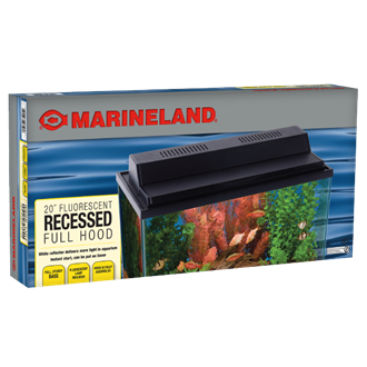 Marineland Fluorescent Recessed Full Hood 20 inch