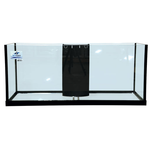 Seapora 75 Gallon RIMLESS EDGE Reef Ready Aquarium 48x18x20