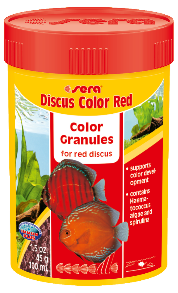 Sera Discus Color Red Granulated Food 1.5 oz (100 mL)